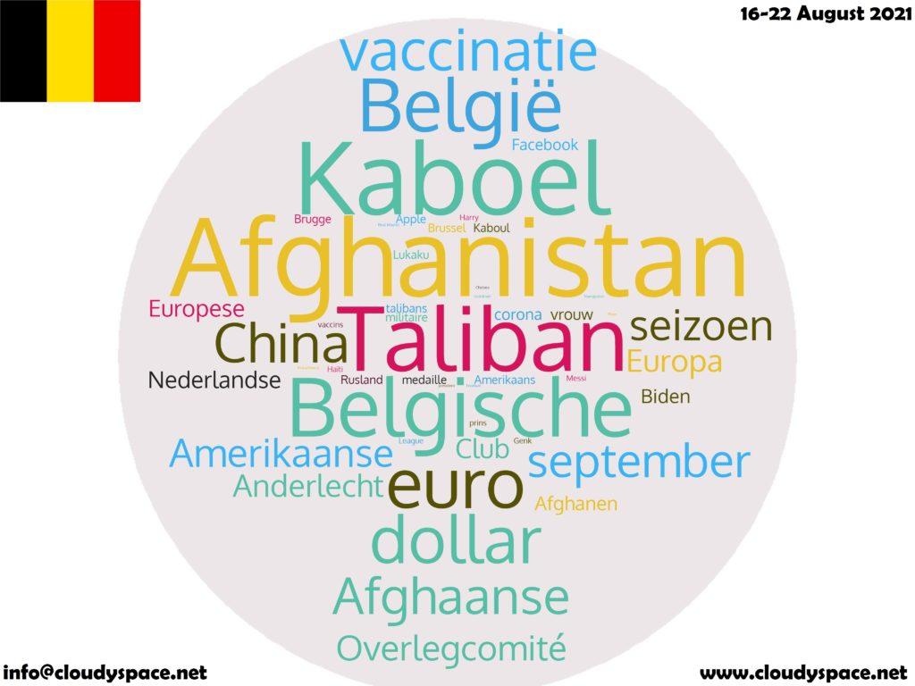 Belgium News Week 16 August 2021
