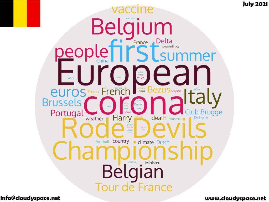 Belgium News July 2021 in English