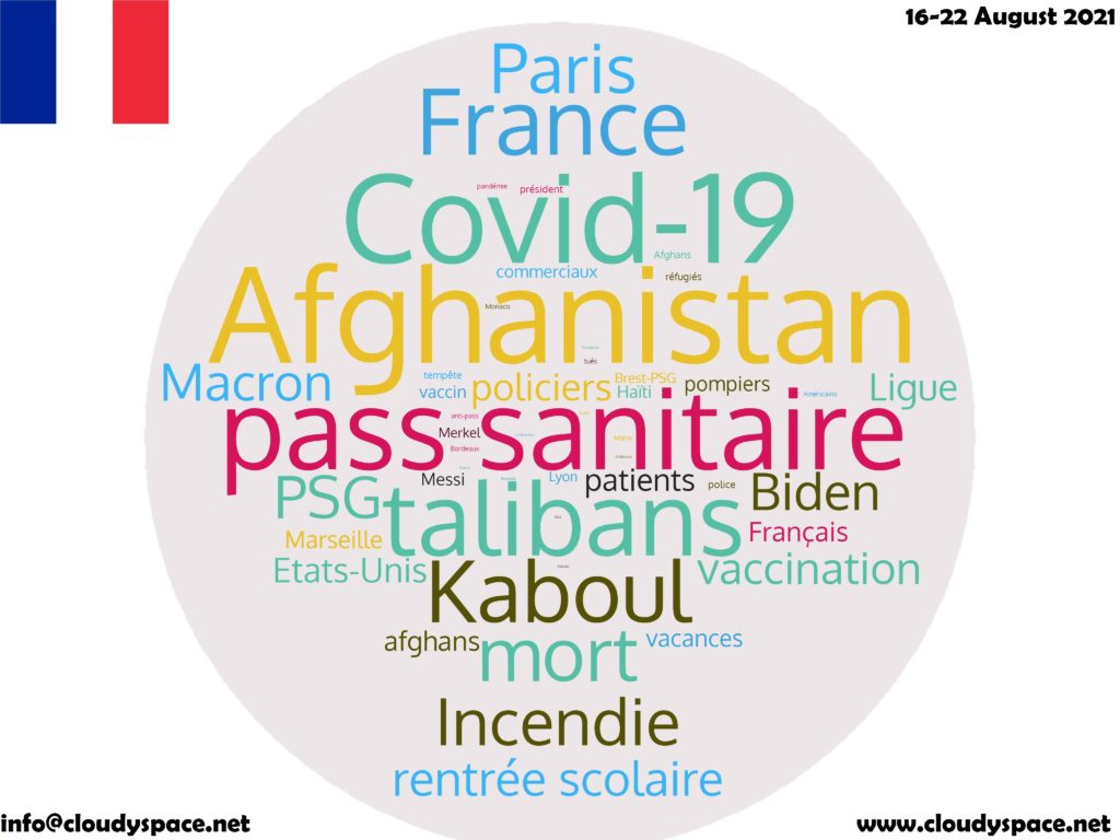 France News Week 16 August 2021