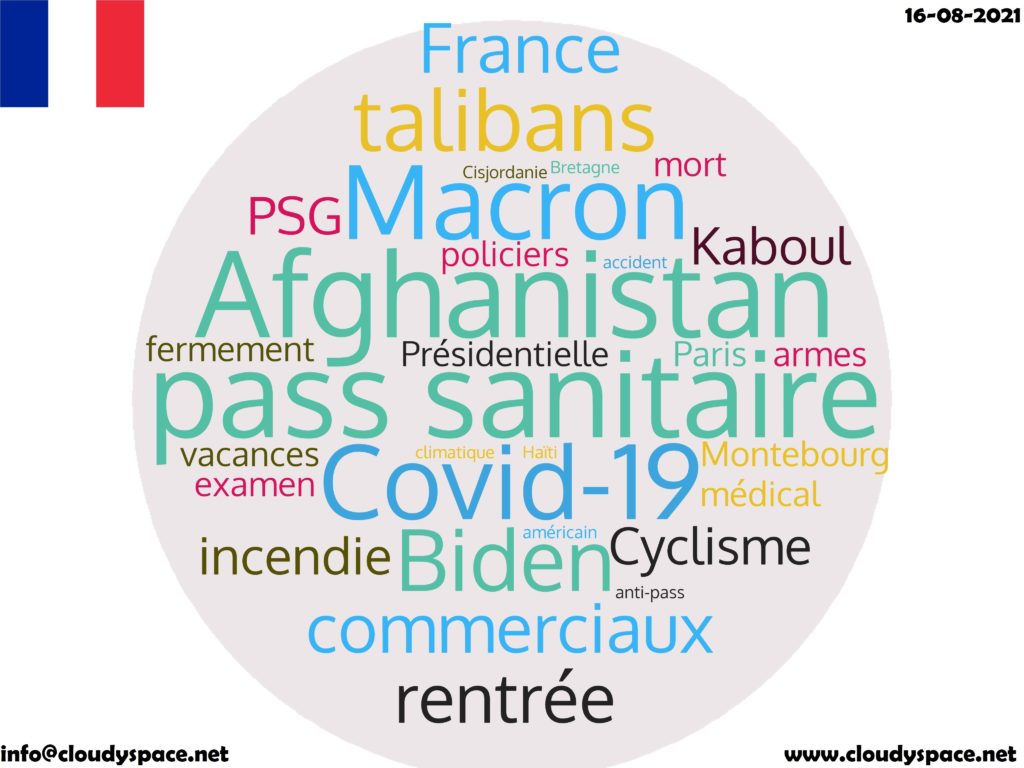 France News Day 16 August 2021