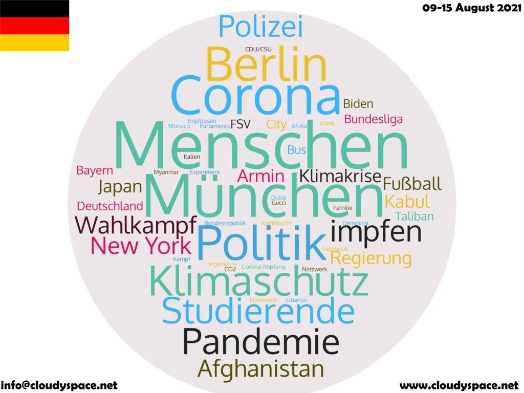 Germany News Week 09 August 2021