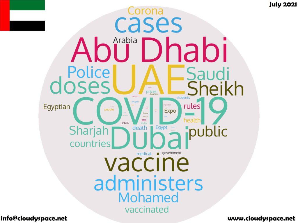 UAE News July 2021 in English