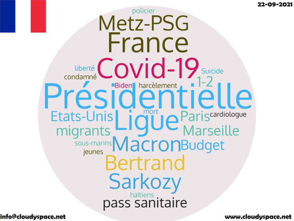France News Day 22 September 2021