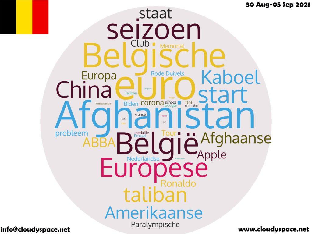 Belgium News Week 30 August 2021