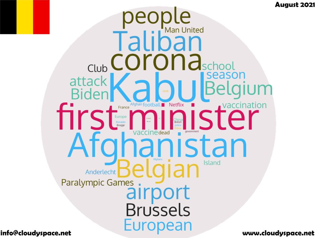 Belgium News August 2021 in English