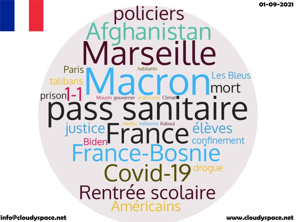 France News Day 01 September 2021