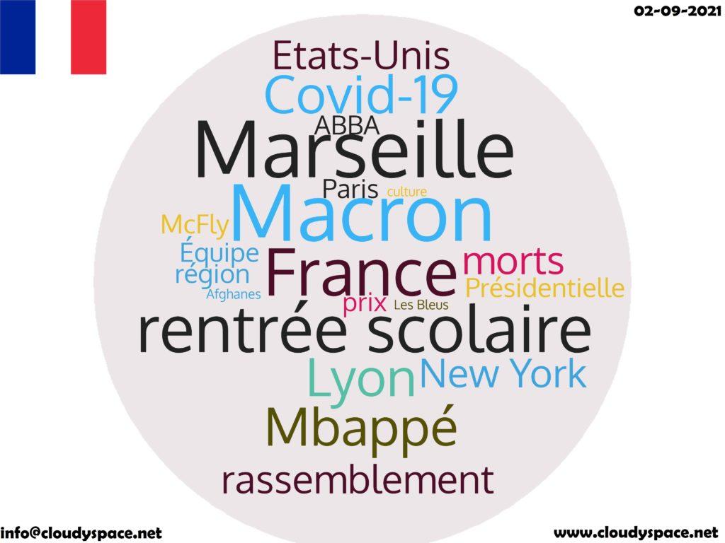 France News Day 02 September 2021