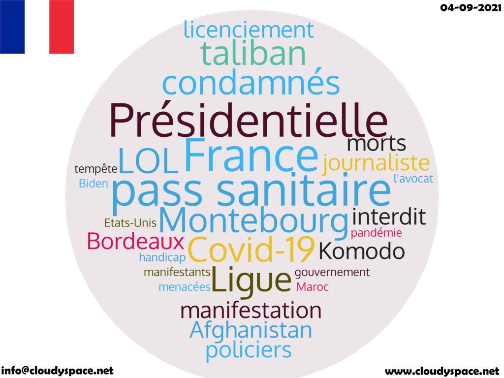 France News Day 04 September 2021