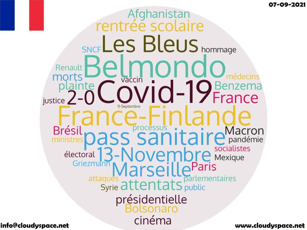 France News Day 07 September 2021