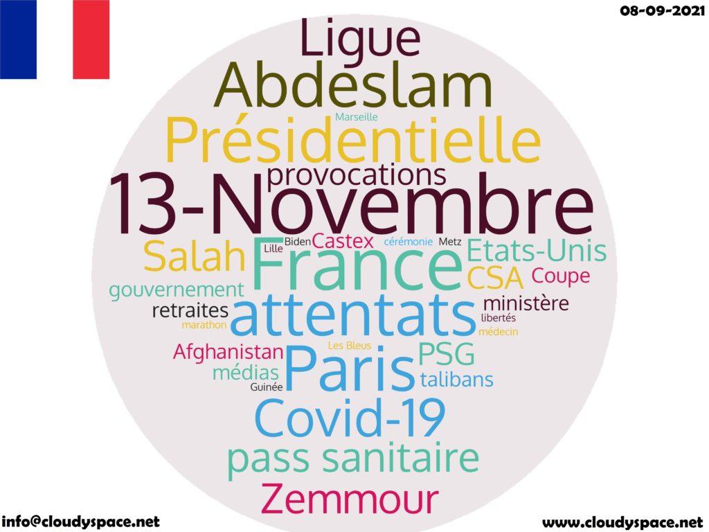 France News Day 08 September 2021