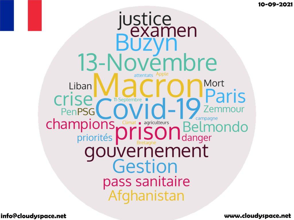 France News Day 10 September 2021