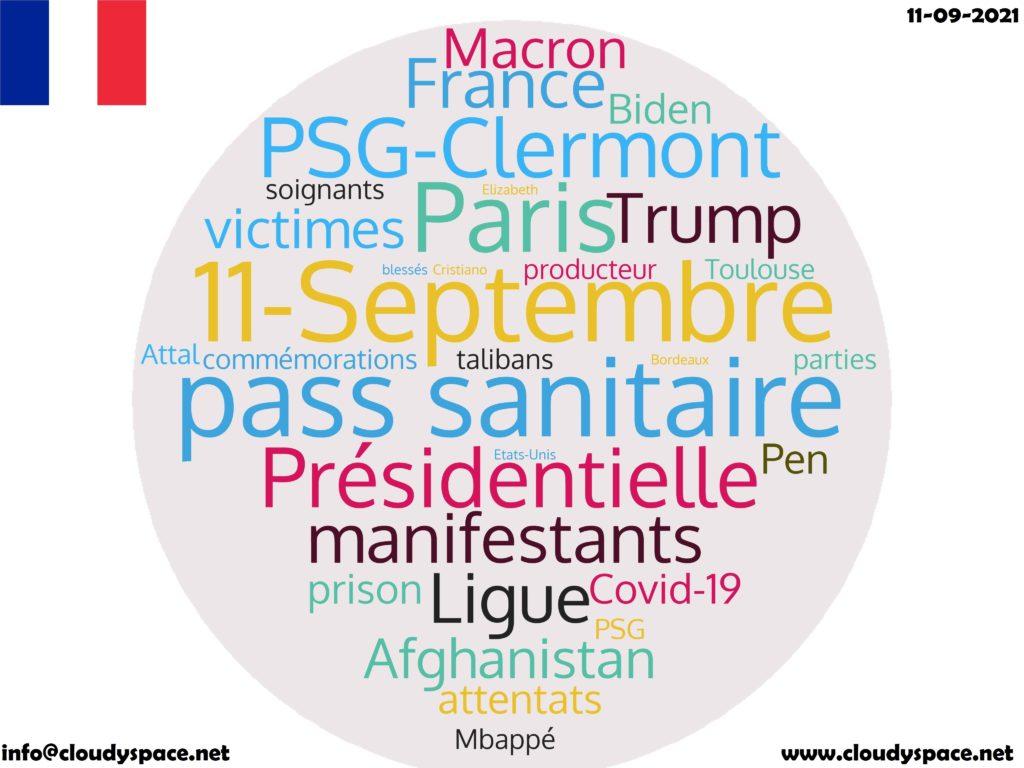 France News Day 11 September 2021