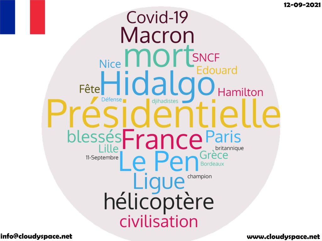 France News Day 12 September 2021