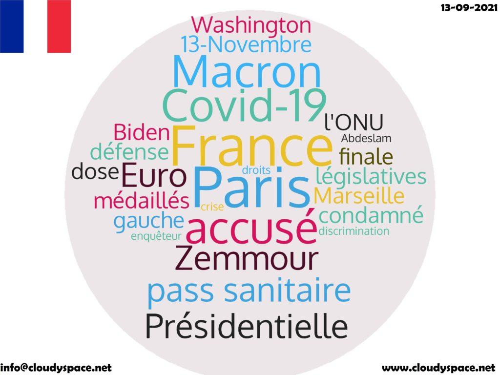 France News Day 13 September 2021