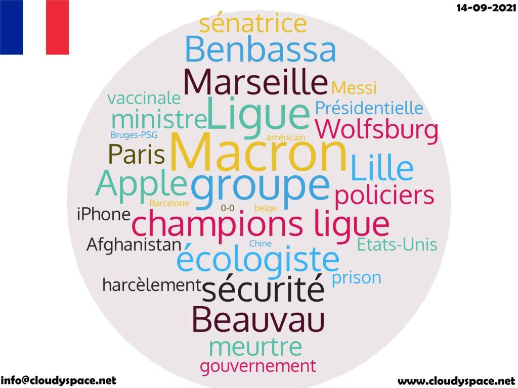 France News Day 14 September 2021