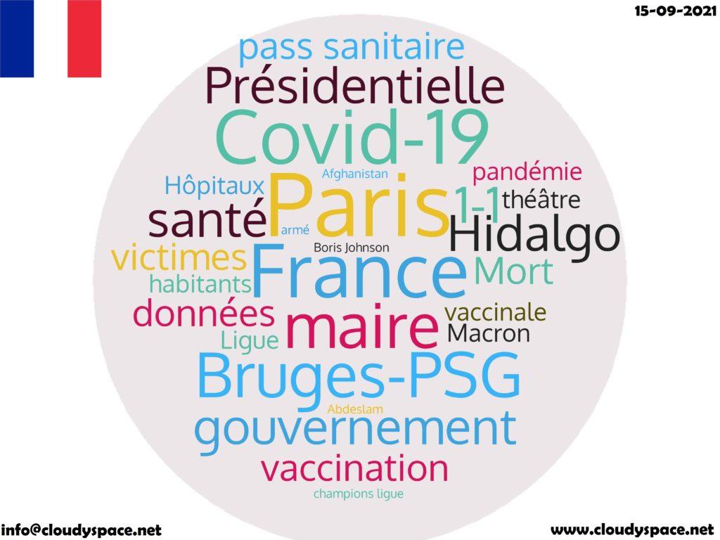 France News Day 15 September 2021