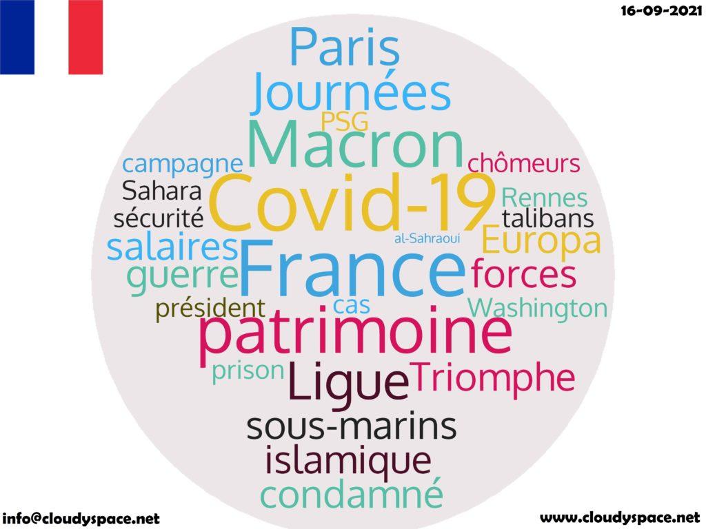 France News Day16 September 2021