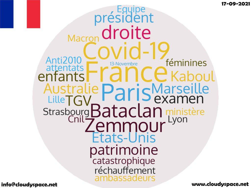 France News Day 17 September 2021