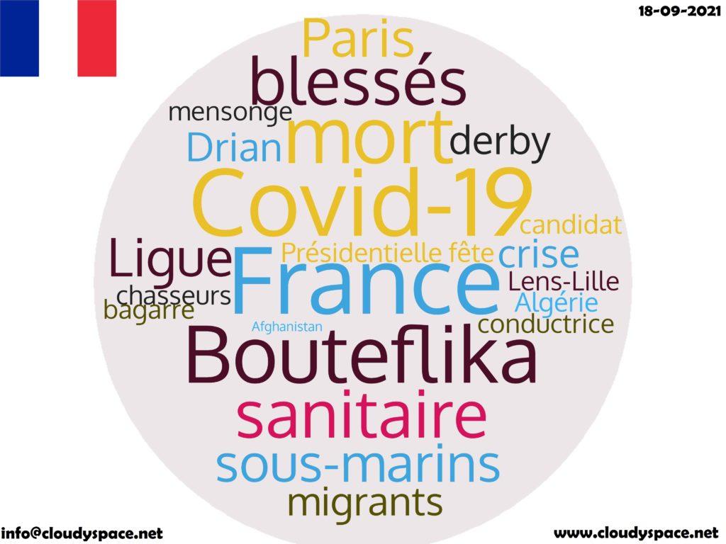 France News Day 18 September 2021