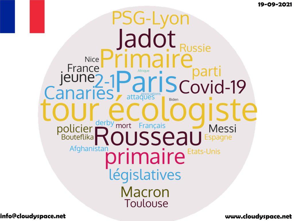 France News Day 19 September 2021