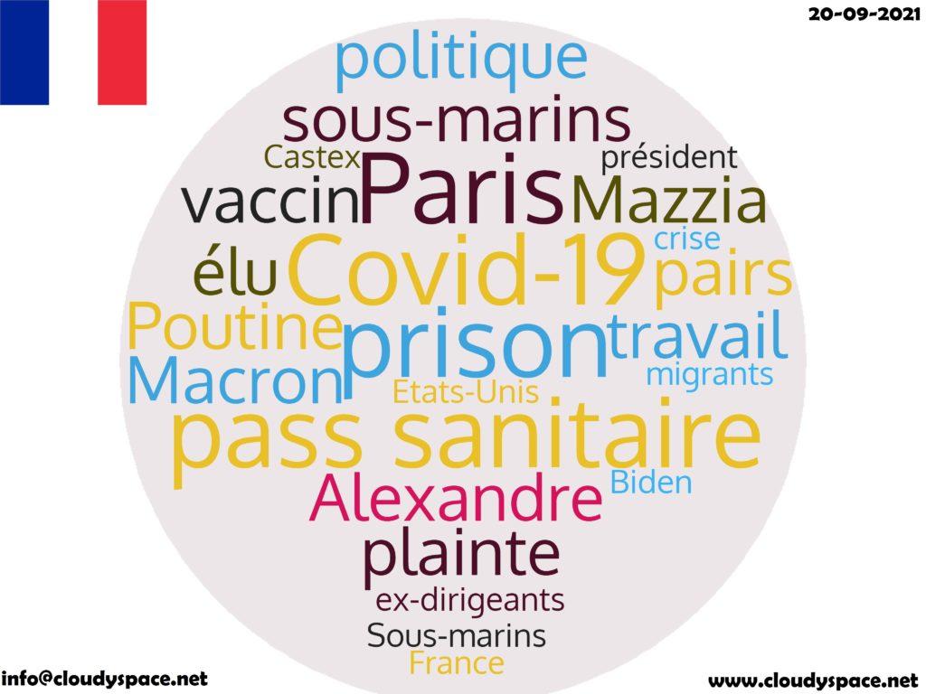 France News Day 20 September 2021