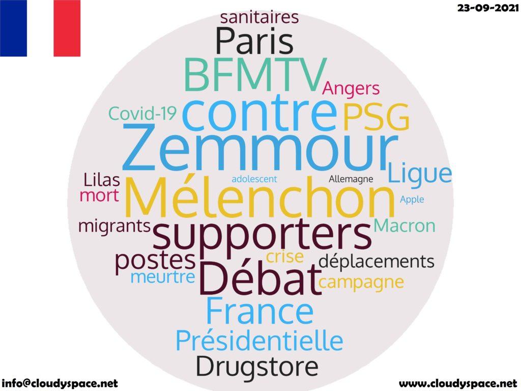 France News Day 23 September 2021