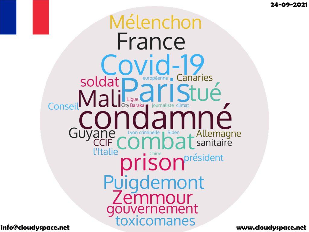 France News Day 24 September 2021