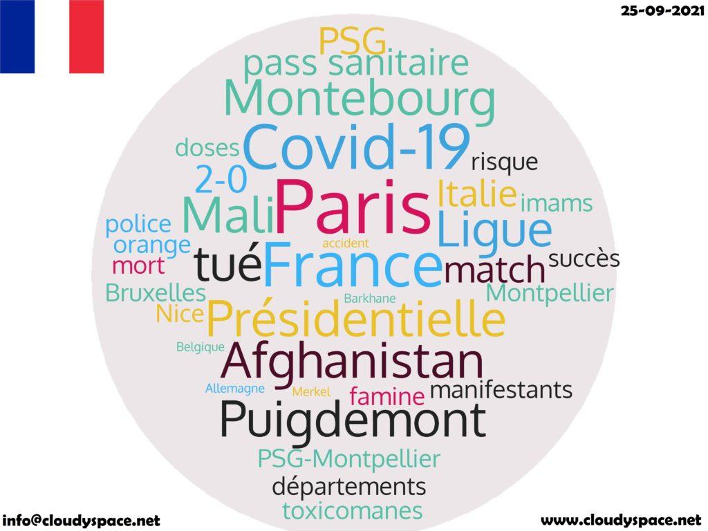 France News Day 25 September 2021