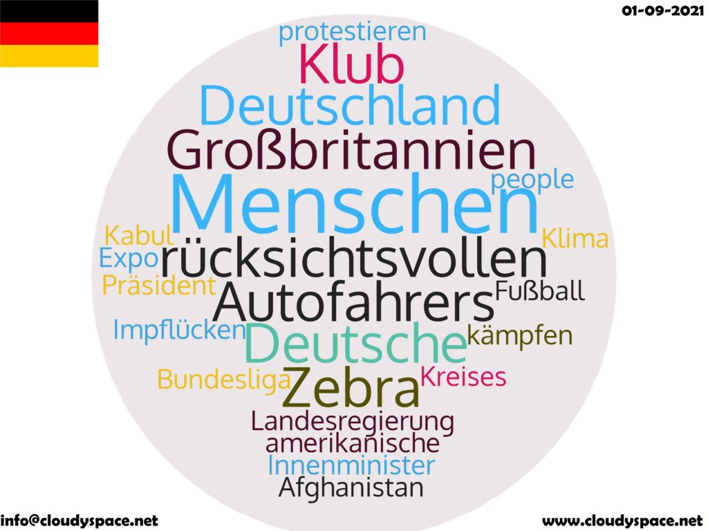 Germany News Day 01 September 2021