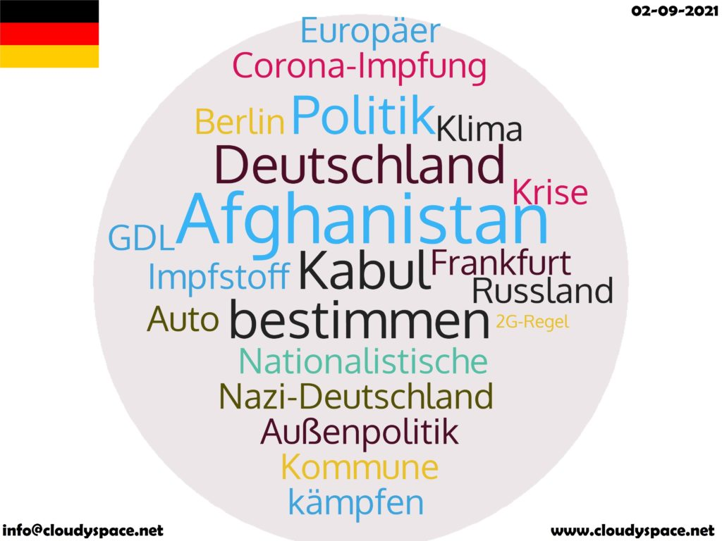 Germany News Day 02 September 2021