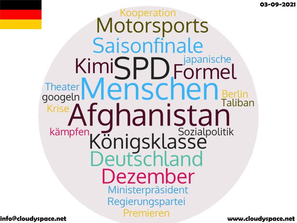 Germany News Day 03 September 2021