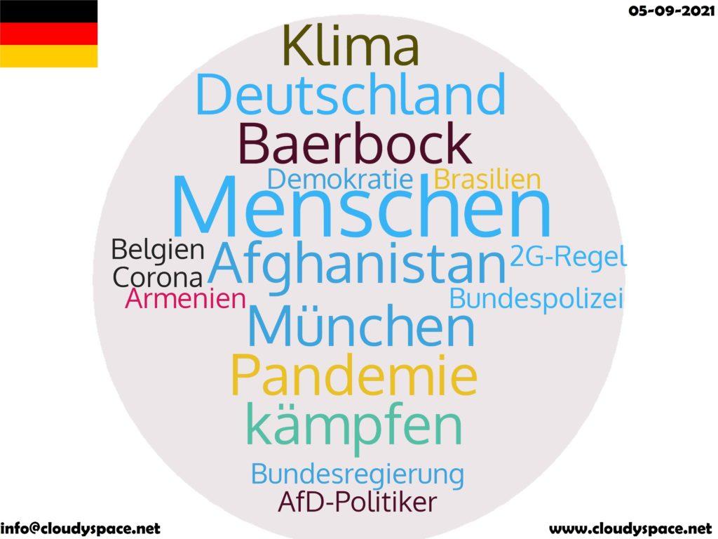 Germany News Day 05 September 2021