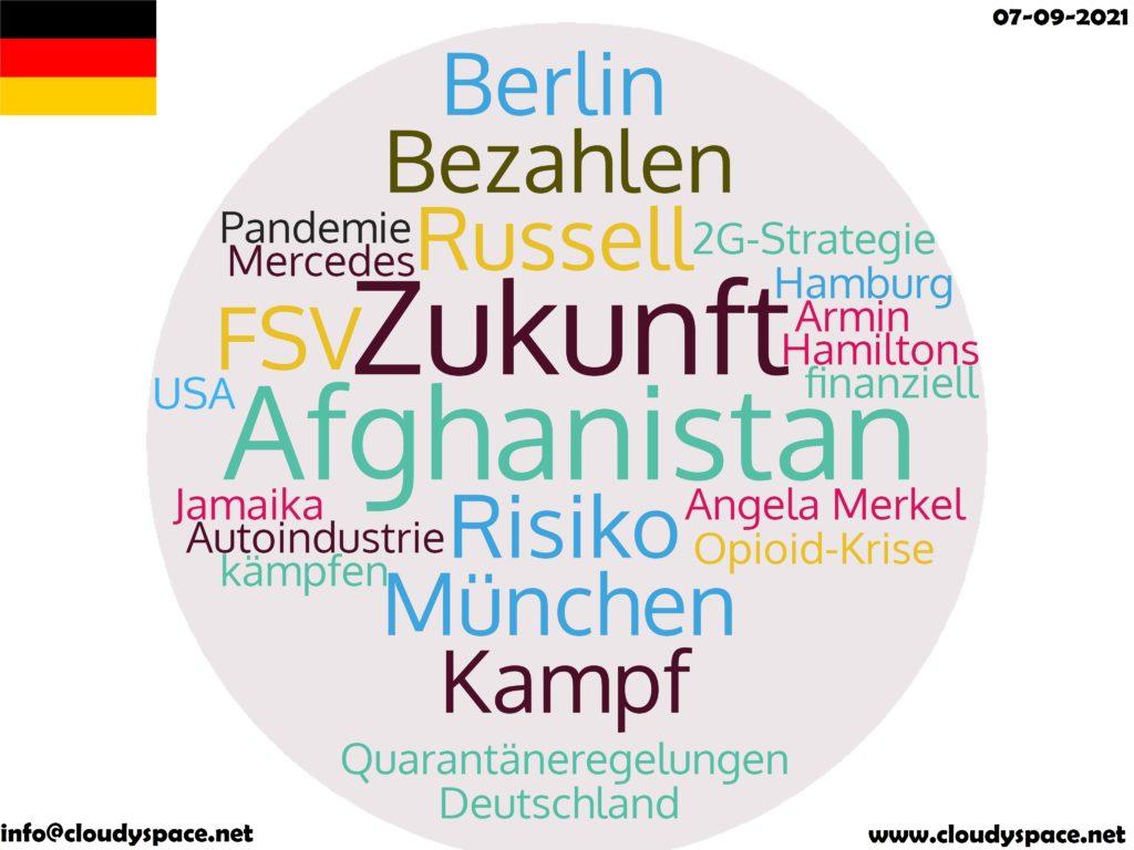 Germany News Day 07 September 2021