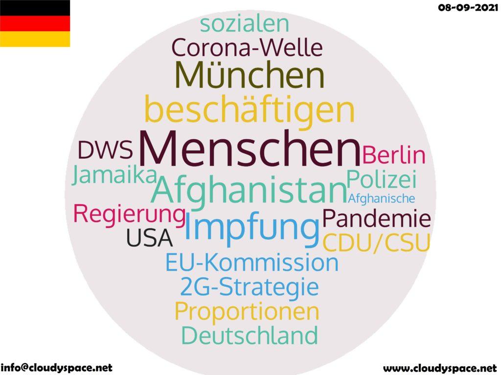 Germany News Day 08 September 2021