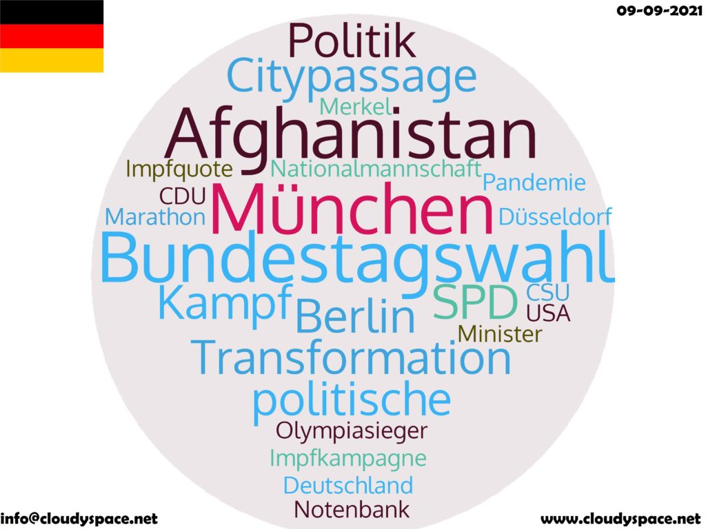 Germany News Day 09 September 2021