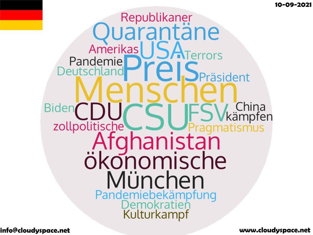 Germany News Day 10 September 2021