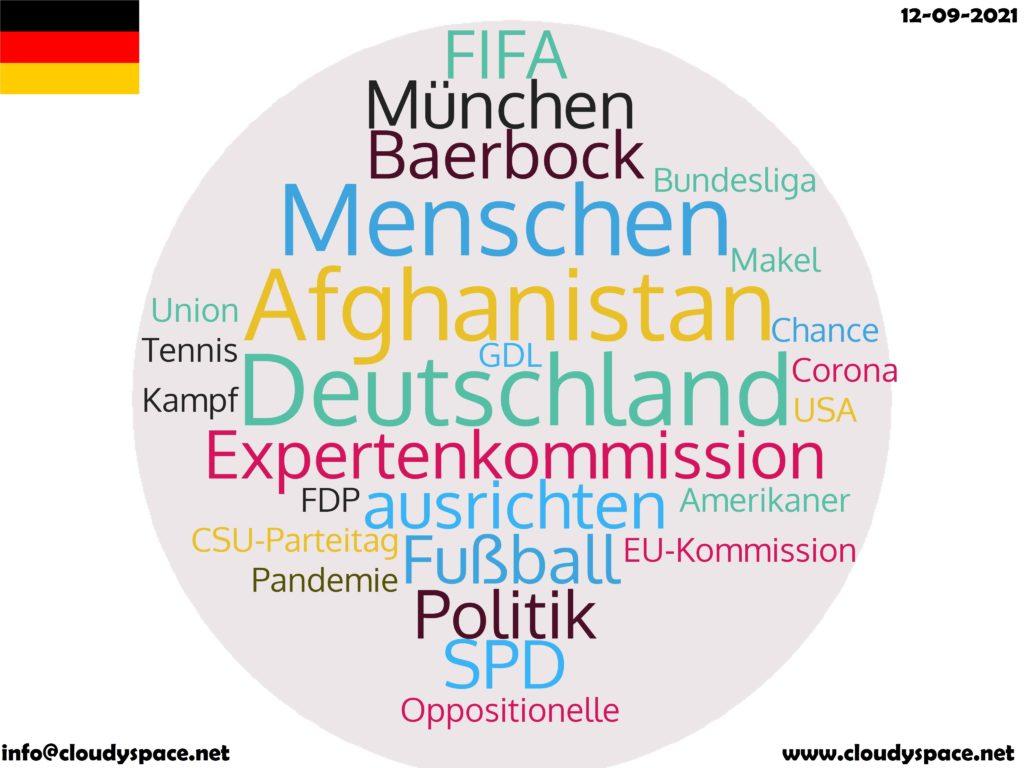 Germany News Day 12 September 2021
