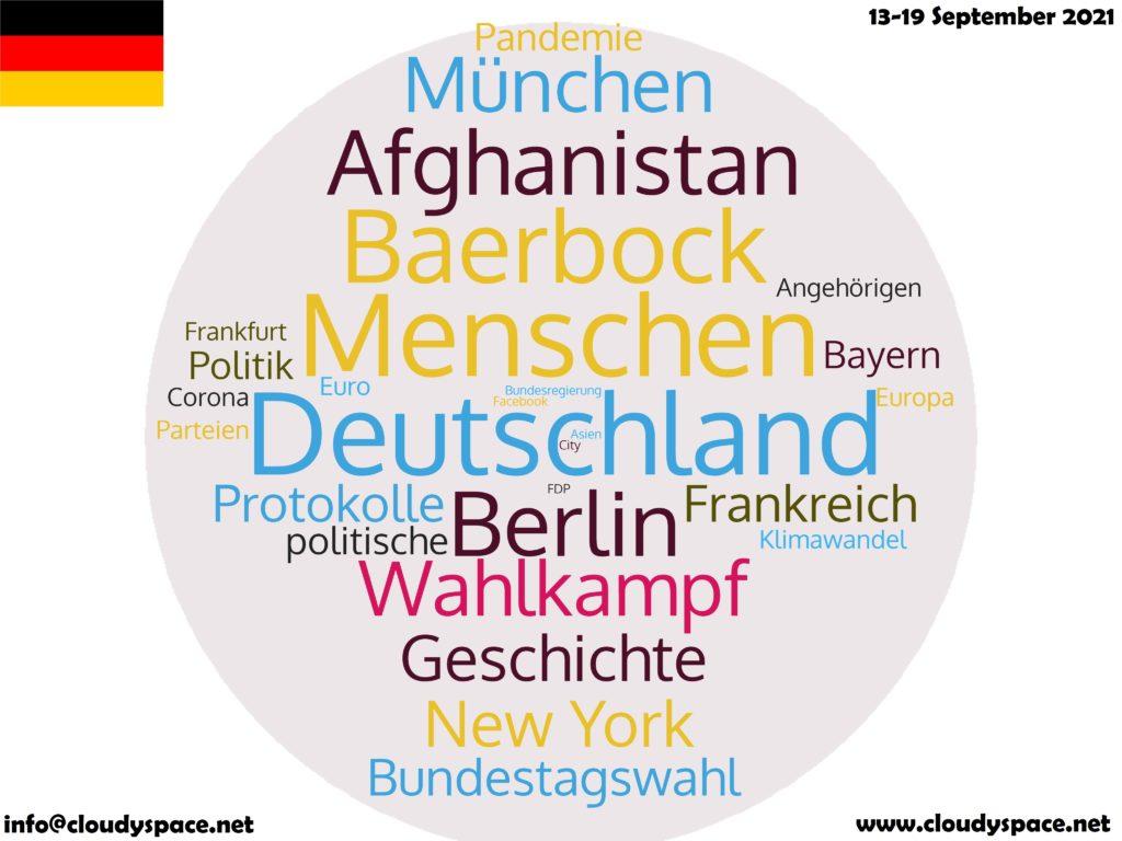 Germany News Week 13 September 2021