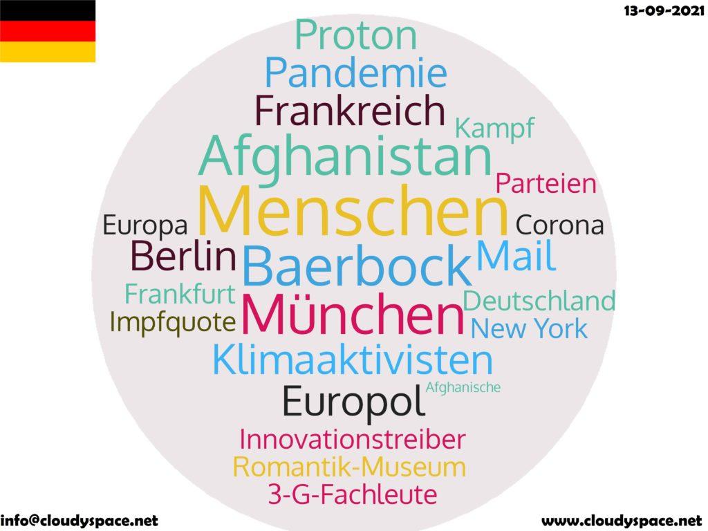 Germany News Day 13 September 2021