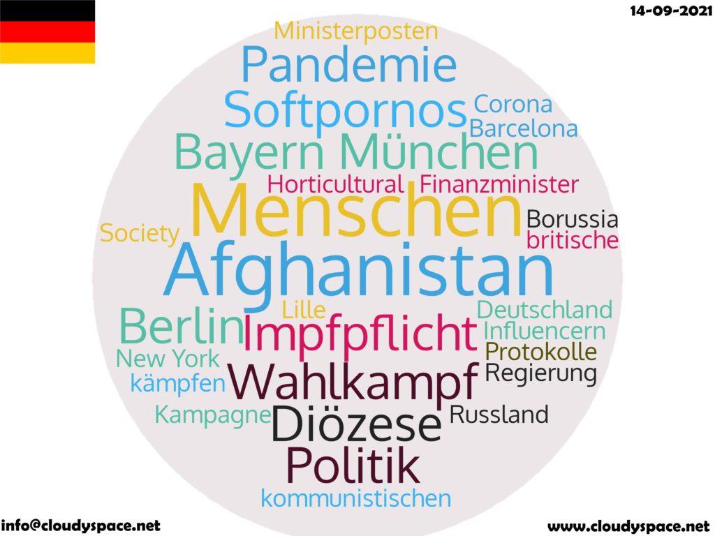 Germany News Day 14 September 2021