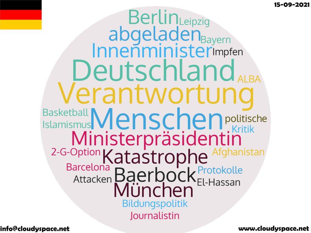 Germany News Day 15 September 2021