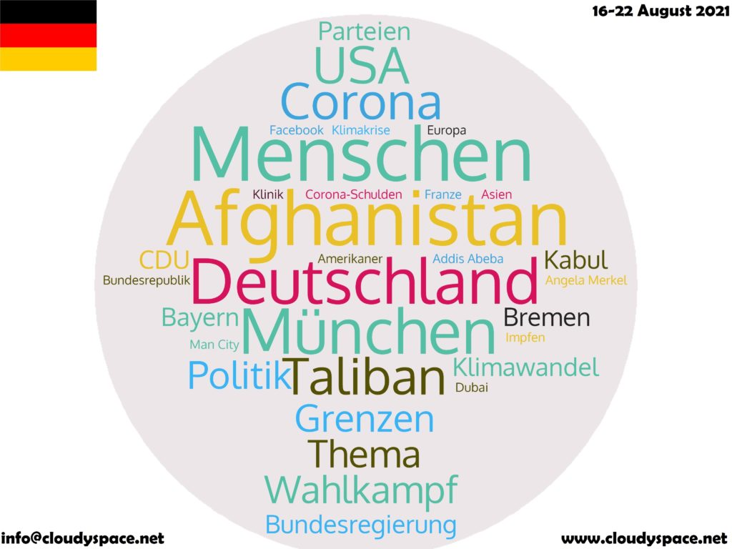 Germany News Week 16 August 2021