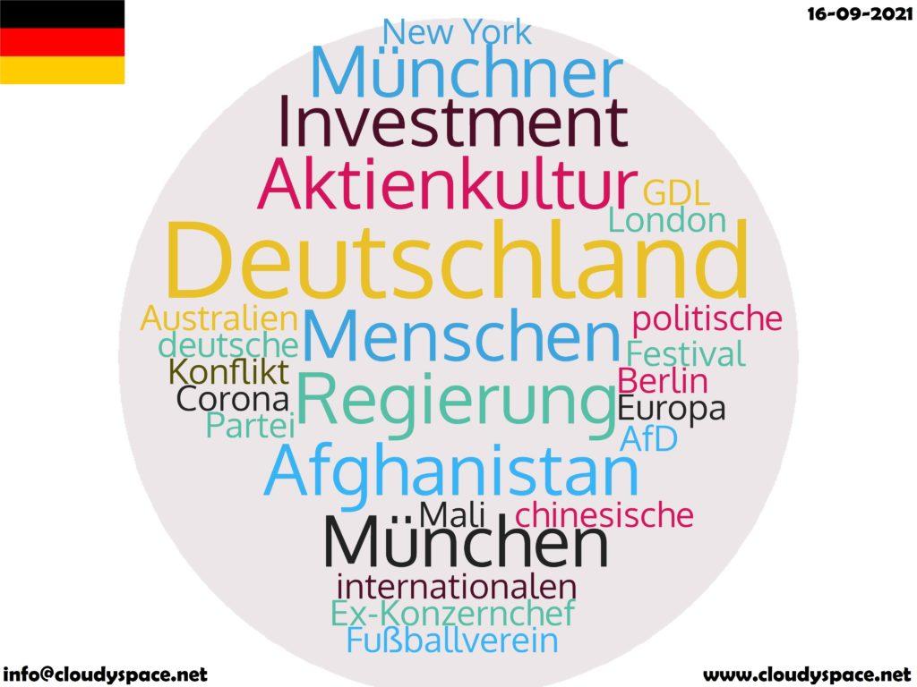 Germany News Day 16 September 2021
