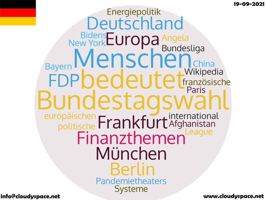 Germany News Day 19 September 2021