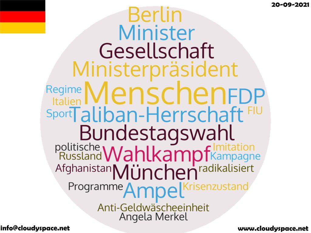 Germany News Day 20 September 2021