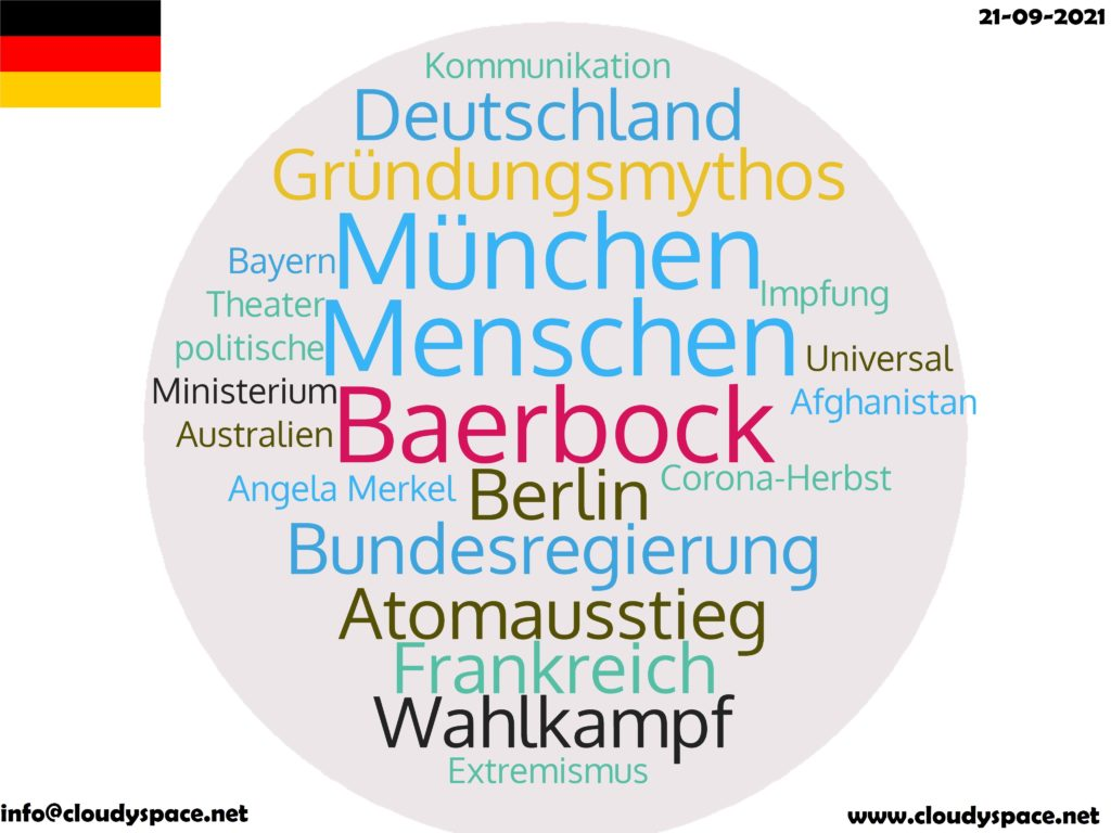 Germany News Day 21 September 2021