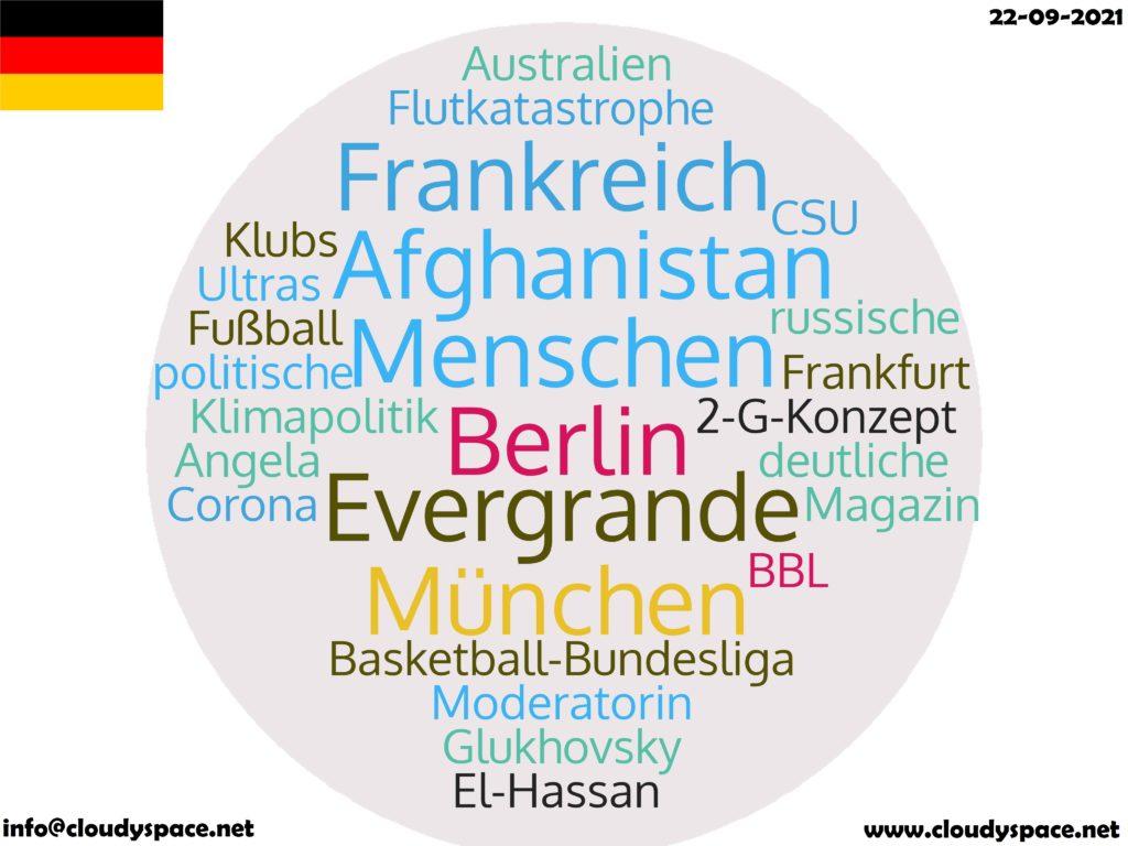Germany News Day 22 September 2021