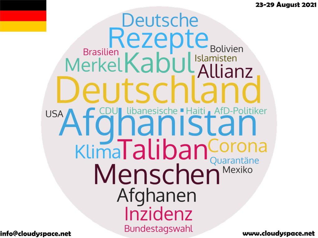Germany News Week 23 August 2021