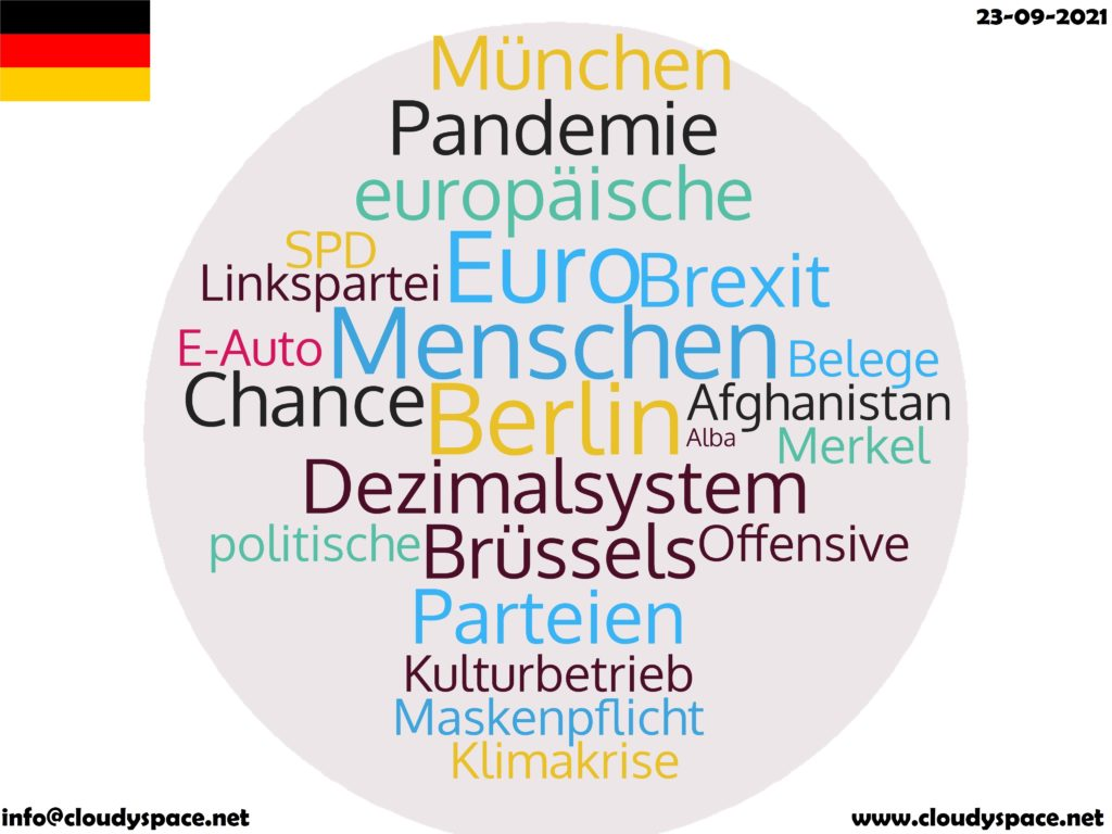 Germany News Day 23 September 2021
