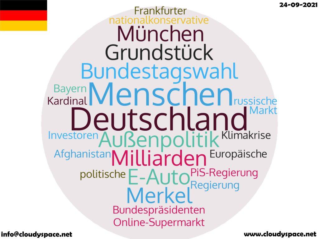 Germany News Day 24 September 2021